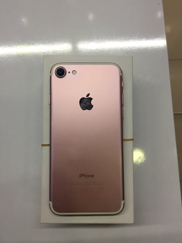 iPhone 7 Rose Gold 32gb 0