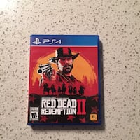 Ps4 Game Red Dead Redemption 2 Surrey, V3W 1P7
