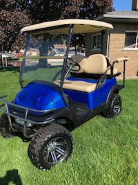 Custom Club Car Golf Cart