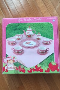 Strawberry Shortcake Porcelain Tea Set NEW Herndon, 20171