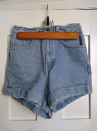 Size 25 American Apparel High Waist Shorts New Westminster
