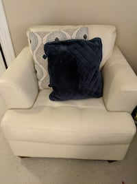 Matching plush love seat couch, chair, and ottoman  WASHINGTON
