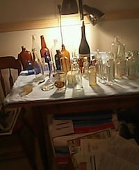 Antique bottles some rare and valuable price nego  Bangor, 04401