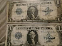 Two old $1 bills Duluth, 55807