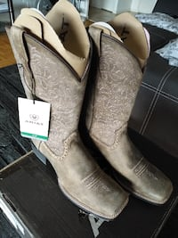 NEW Ariat Womens Round up Remuda Work Leather Boots Sz11 Toronto