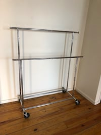 Double rail clothing rack New York, 11211