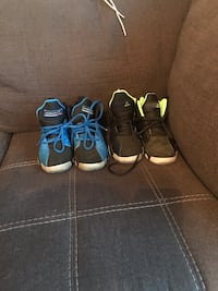 Boys Jordan sneakers size 1 1/2 and 2 (2 pairs sold together) Parlin, 08859