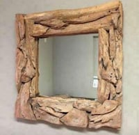 TeK wall mirror - rustic furniture and decoration - patio and garden Windermere, 34786