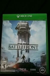 Xbox One Star Wars Battlefront game case Winnipeg, R2R 0V4