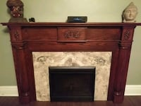 Fire place mantel with electric fireplace  Brampton, L6Y 2M3
