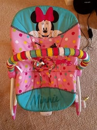baby's pink and blue bouncer Woodbridge, 22192