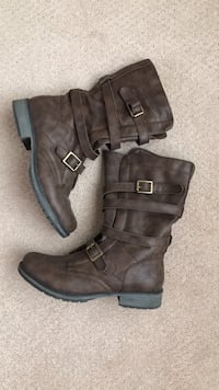 Brown Boots! Size 6.5 Surrey, V3X 0E4