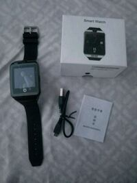 black smartwatch with black strap Terrebonne, J6X