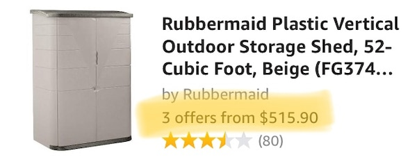 Outdoor Shed-Rubbermaid