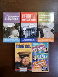 13-EACH VHS tapes(3-bloopers,2 comedies,7 movies) Duluth, 30097