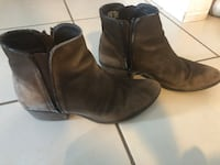 Leather Steve Madden Booties Size 8 Toronto, M3H 0A2