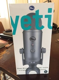 Microphones Yeti USB Microphone new open box best offer accepted