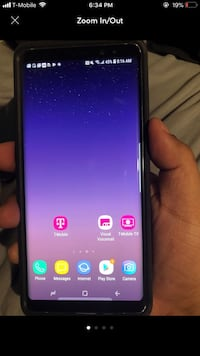 Samsung galaxy note 8 grey tmobile Silver Spring, 20906