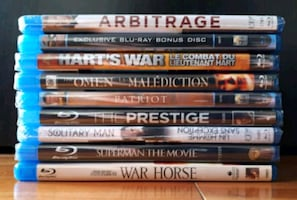 Films blu-ray movies 10$ chaques/each