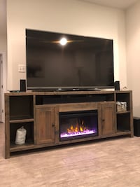 Greyleigh Columbia TV Stand/Entertainment Center w/ Fireplace