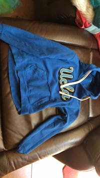 blue and white Nike pullover hoodie Bakersfield, 93312