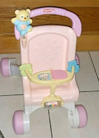 baby's pink and white high chair New Hamburg, N3A 2B8