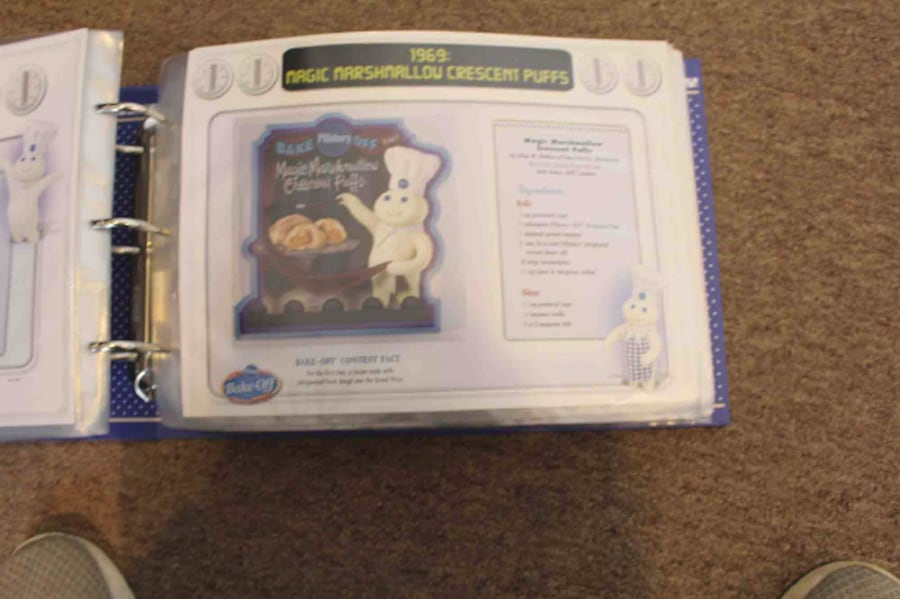 Pillsbury Bake-Off Patch Collection Cookbook 1