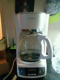 white and gray Mr. Coffee coffee maker Fort Smith, 72901