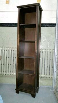 brown wooden framed glass display cabinet Laval, H7X 3B7