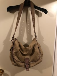 AE Large Canvas Hobo Bag