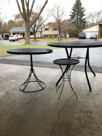 Outdoor table set. 3 tables Maple Grove, 55369