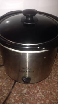 stainless steel RIval Crock pot slow cooker Townsend, 19734