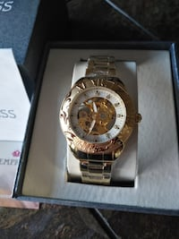 NEW Empress EM1104 Women's Jeweled Automatic Skeleton Watch Toronto