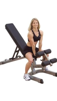 Body Solid adjustable Weight bench W/ Preacher Curl + Leg Extension New York, 10065