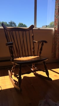 brown wooden rocking chair Victoria, V8V 3N8