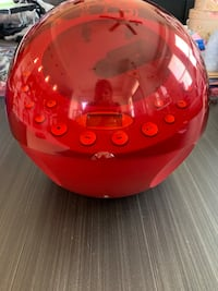 Target Red Ball FM/AM Radio / CD Player Fishers, 46037