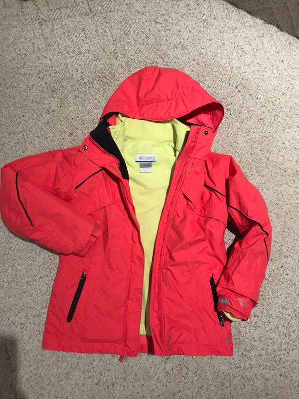 Columbia 3 in 1 jacket size 10-12