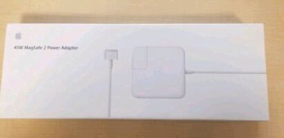 Apple - 45W MagSafe 2 Power Adapter