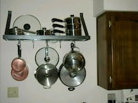 """36"""" long Stainless Steel Pot Rack Temple Hills, 20748"""