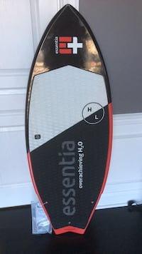 "Brand New Hyperlite Broadcast Wakesurf Board 4'8"".  Check out the video link:                            https://youtu.be/_uFIj_Rp8_k Frederick, 21701"