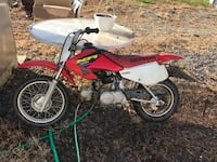 Red and white honda motocross dirt bike Frederick, 21703
