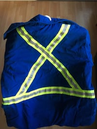 Fire Retardant Insulated Parka Large Size Edmonton