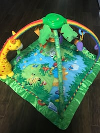 Rainforest Deluxe Lights and music Baby Gym
