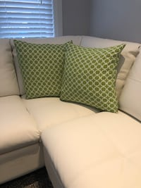 Two Green Pillows