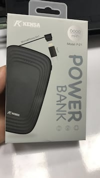 Kensa 6000 lik super powerbank Melikgazi, 38350