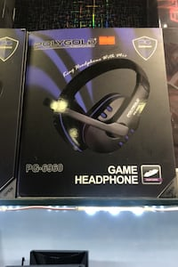 Polygold game headphone