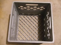 Milk Crate Collectible Vintage Country's Delight Grocer Orland Park