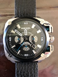 Men's Diesel watch works great but does need a battery Calgary, T2A