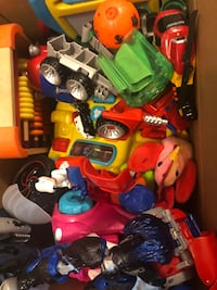 Box of toys Mississauga, L5N 3M4
