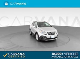 2016 Buick Encore suv Leather Sport Utility 4D Silver